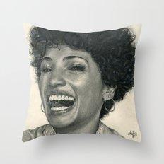 Jasika Nicole Traditional Portrait Print Throw Pillow