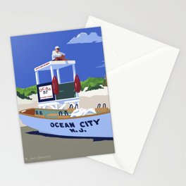 Ocean City Beach Patrol Stationery Cards