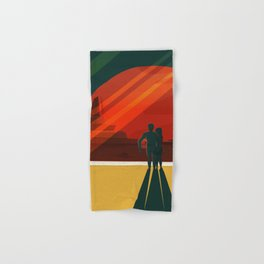 THE MOONS OF MARS - Phobos & Deimos | Space | X | Retro | Vintage | Futurism | Sci-Fi | Two Hand & Bath Towel