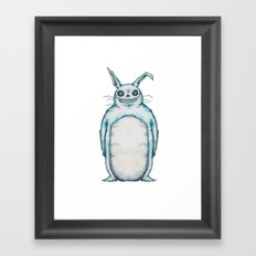 My Neighbor Frank The Bunny Framed Art Print