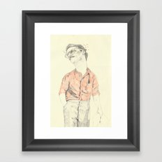 WIP of Theodore Twombly | Her Framed Art Print