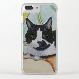 "A Tribute to ""Pepper"" Clear iPhone Case"