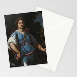 Matteo Rosselli FLORENCE 1578 - 1650 DIANA THE HUNTRESS Stationery Cards