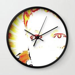 Lady Lemon Balm Wall Clock