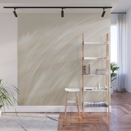 Furry 3 Cream White - Abstract Art Series Wall Mural