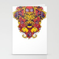 pilot Stationery Cards featuring Pilot by Tshirt-Factory