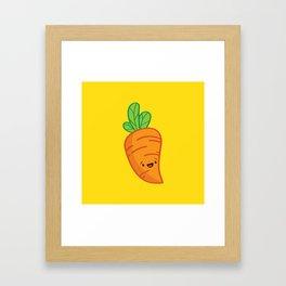Carrot Guy Framed Art Print