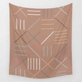 Geometric Shapes 07 Wall Tapestry