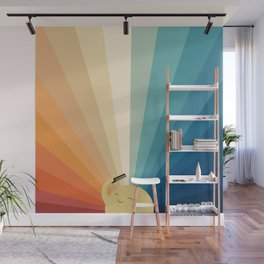 Sunshine will be ready in a minute Wall Mural