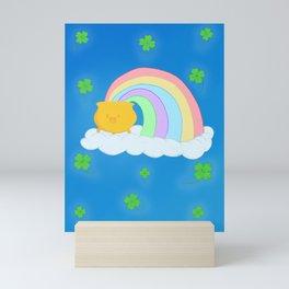 Lucky Rainbow Mini Art Print