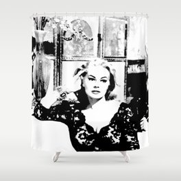 The Centre Of Attention Shower Curtain