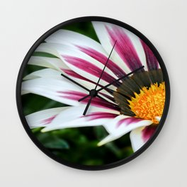 Treasure flower.  Wall Clock