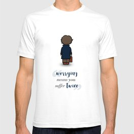 Worrying means you suffer twice - Newt Scamander T-shirt