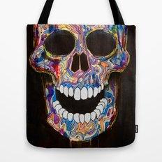 Chromatic Skull 02 Tote Bag