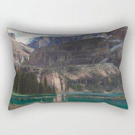 John Singer Sargent - Lake O'Hara, 1916 Rectangular Pillow