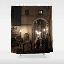 Along the Arno Shower Curtain