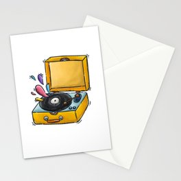 music days Stationery Cards