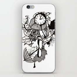 Lost track of time... iPhone Skin