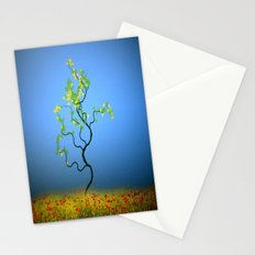 Tree in field ( continuation, tree series ) Stationery Cards