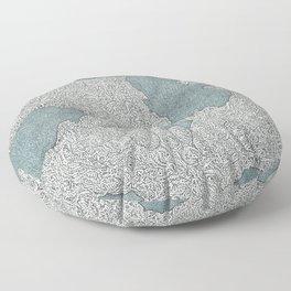 Murky Depths Floor Pillow