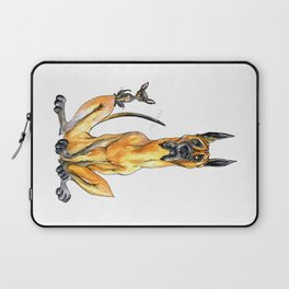 Great Dane and Chihuahua Laptop Sleeve