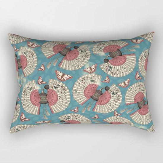 FanTastic Butterfly Fragrance Rectangular Pillow
