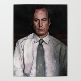 The Encroaching Darkness - Better Call Saul Poster