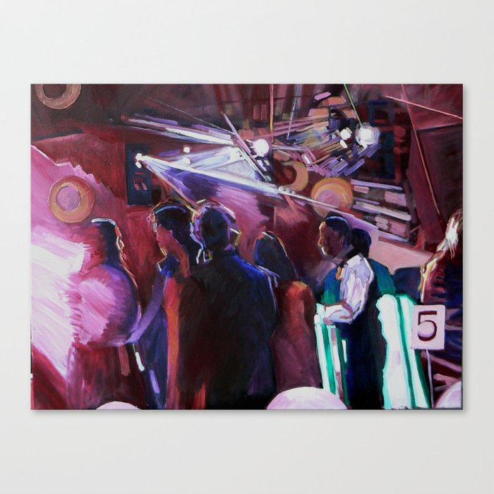 The Wedding Dancers Canvas Print