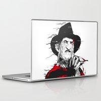 freddy krueger Laptop & iPad Skins featuring Freddy by Akyanyme