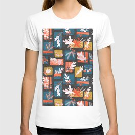 Gift Box on black T-shirt