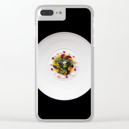 The Art of Food Colours of Nature Clear iPhone Case