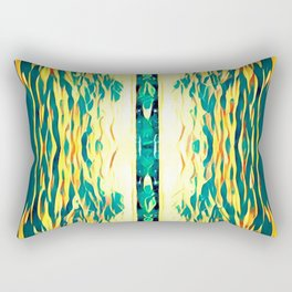 Crack in the sky Rectangular Pillow