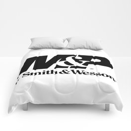 Smith & Wesson Logos Comforters