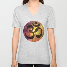 Power of Om Unisex V-Neck