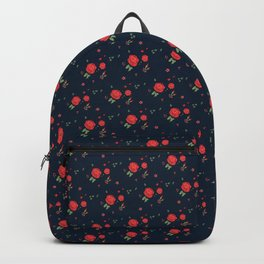 Classic western rose pattern Backpack