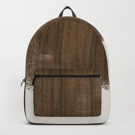 Dipped Wood - Australian Walnut Backpack