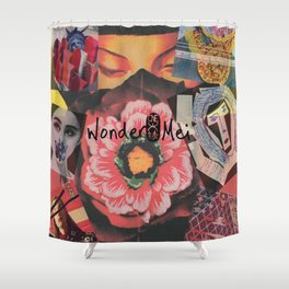 World of Wondermei Shower Curtain