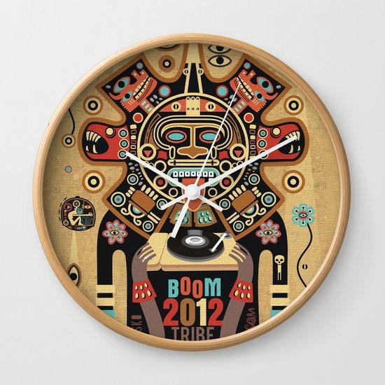 Mayas Spirit - Boom 2012 Wall Clock
