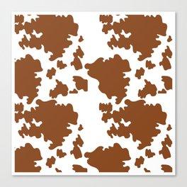 Cow Pattern | Cow Spots Farm Farmer Animal Milk Canvas Print