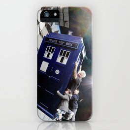 Family Day Out iPhone Case