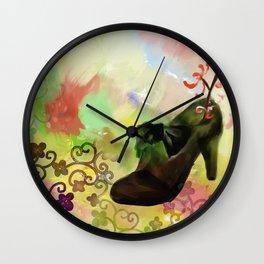 Lucky High Heels Wall Clock