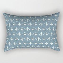 787 Passenger Jet Airliner Aircraft - Slate Rectangular Pillow