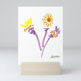 Pablo Picasso Flowers (Fleurs) 1964 Artwork Mini Art Print