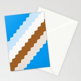 Sea beach palette Stationery Cards