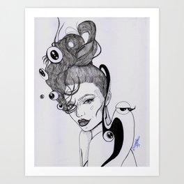 Kylie || Art Print