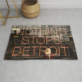 Nothing Stops Detroit Rug