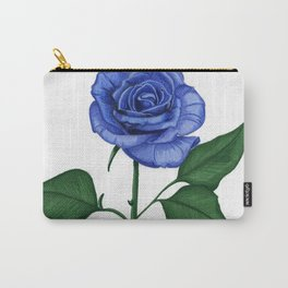 Blue Rose, Single Carry-All Pouch