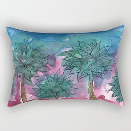 magic in the summer Rectangular Pillow
