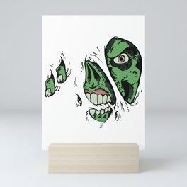 Zombie Mini Art Print