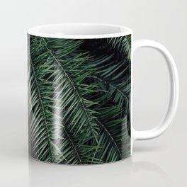 GREEN PALM PLANT DURING NIGHT TIME Coffee Mug